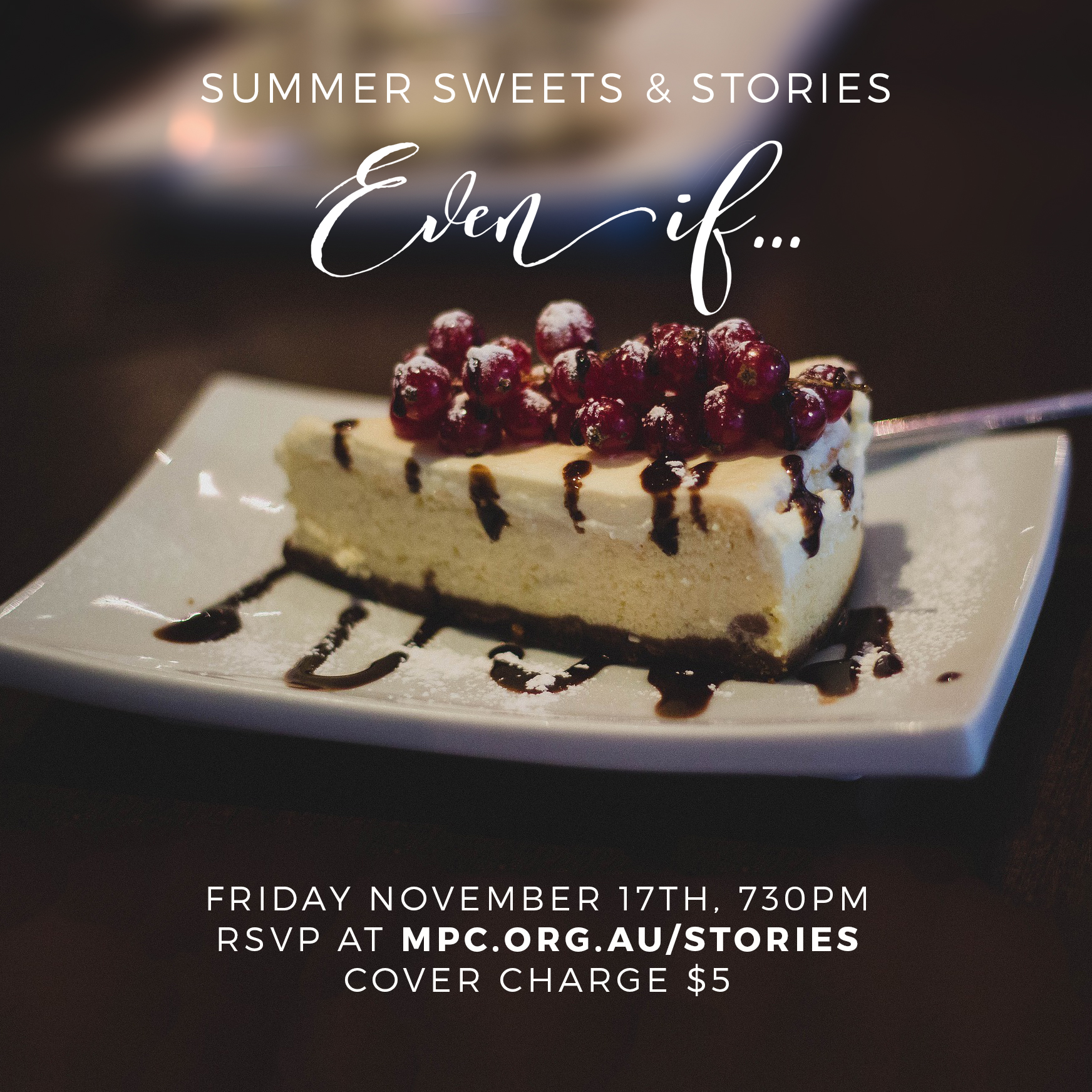 Summer Sweets & Stories | Nov 17, 2017