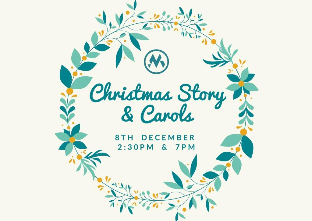 Christmas Story and Carols - 8 Dec 2019, 2:30pm and 7pm